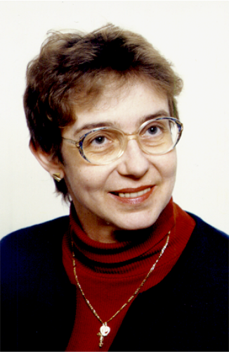 Anna POPIEL-SCHNEIDER        photo : mars 2004