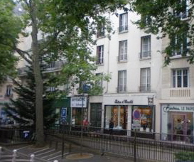 L'appartement vu de l'avenue